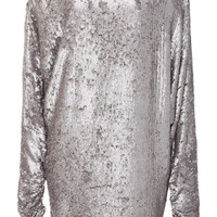 Off Shoulder Sequin Dress | Moda Operandi