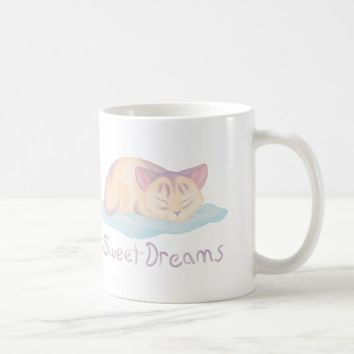 Dreaming Kitten Coffee Mug