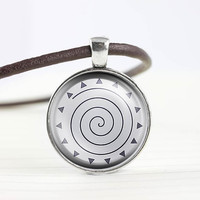 My little pony Zecora cutie mark MLP pendant leather necklace - ready for gifting - buy 3 get 4th one free