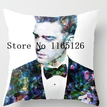 Hot sale Pillow cases Justin Timberlake two sides printing Square Zippered  Pillowcase free shipping