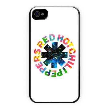 Red Hot Chili Peppers Colorfull iPhone 4/4S Case