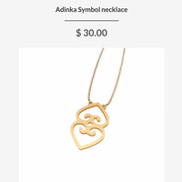 Adinka Symbol Necklace
