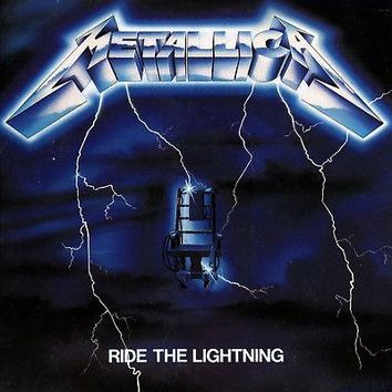 Metallica - Ride The Lightning LP 180g Vinyl RI NEW