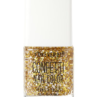 FOREVER 21 Festive Gold Confetti Nail Polish Gold/White One