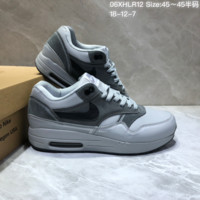 DCCK N866 Nike Wmns Air Max Zero QS Retro Casual Running shoes Grey Black