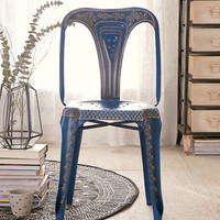 Painted Industrial Chair - Blue | Urban Outfitters
