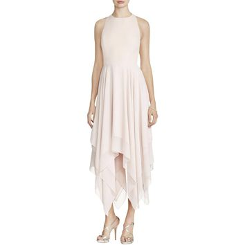 Aidan by Aidan Mattox Womens Chiffon Racerback Semi-Formal Dress