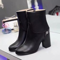 Chanel Women Heels Shoes Boots