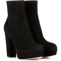 Exclusive to mytheresa.com – Suede platform ankle boots