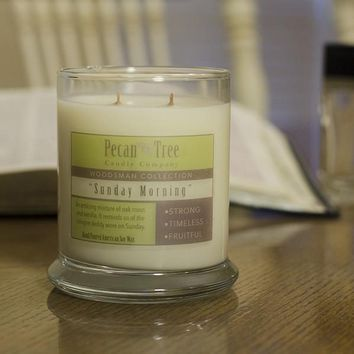 Sunday Morning Soy Candle from Pecan Tree Candle Company