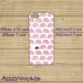iphone 4 case,iphone 4s case,cute iphone 4 case,iphone 5 case,cute iphone 5 case,red elephant,ipod 4 case,ipod 5 case,in plastic,silicone.