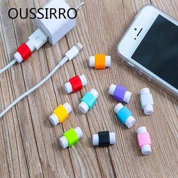 5PCS/Pack Data Line Protection Case Coil Protective Cover For Charging Cable Phone Charging Case Headphone Storage Gifts