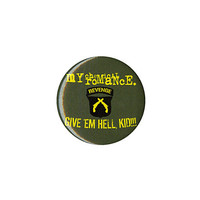 My Chemical Romance Give 'Em Hell Pin | Hot Topic