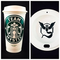 Pokemon GO inspired Starbucks Travel Cups