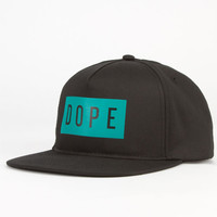 Dope Minimalist Mens Snapback Hat Black Combo One Size For Men 23596214901