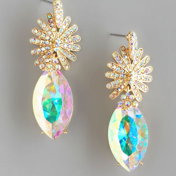 Lana Crystal Statement Earrings