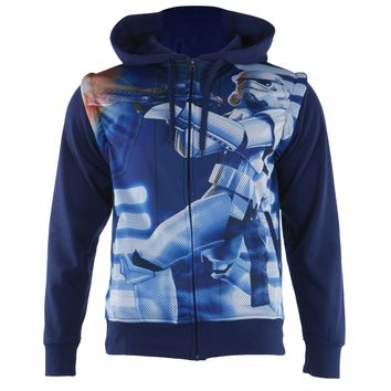 Star Wars - You're Fired Sublimated Zip Hoodie With Removable Sleeves