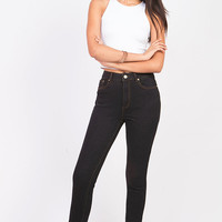 Core Vintage High Waist Skinny Jeans