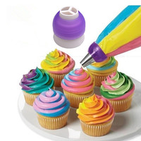 New Tri-color Cream Coupler Cake Decorating Tools