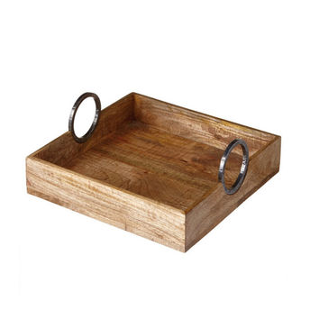 Rustic Rings Serving Tray
