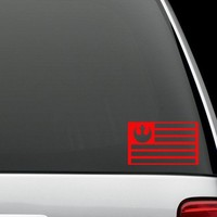 Star Wars Rebel Alliance Flag Decal/Vinyl Car Sticker - FREE SHIPPING