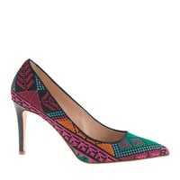 COLLECTION EVERLY CROSS-STITCH PUMPS