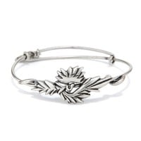 Alex and Ani Phoenix Wrap - Russian Silver
