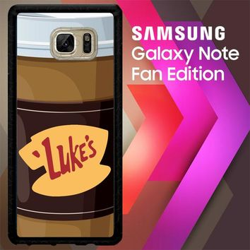 Gilmore Girls Lukes Diner L2116 Samsung Galaxy Note FE Fan Edition Case