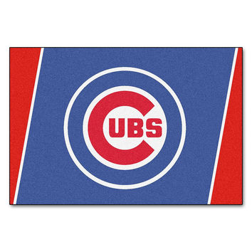 Chicago Cubs MLB Floor Rug (5x8')