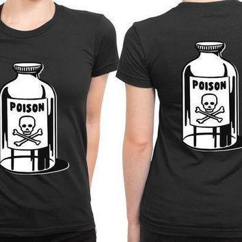 Heavy Metals Poison 2 Sided Womens T Shirt