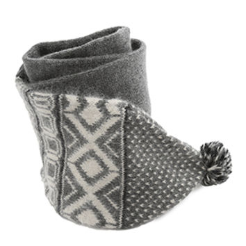 Rag & Bone Grayling Fairisle Scarf
