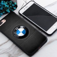 Top Luxury BMW Logo Best Case For iPhone 6 6s 6+ 6s+ 7 7+ 8 8+ X Cover