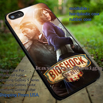 BioShock Infinite Poster iPhone 6s 6 6s+ 5c 5s Cases Samsung Galaxy s5 s6 Edge+ NOTE 5 4 3 #cartoon #animated #bioshock dt