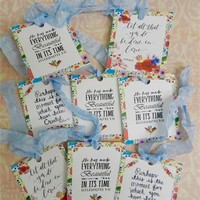 Bible Verse Gift Tags Scripture Tags Inspirational Tags Handmade