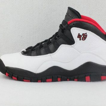 "[Free Shipping ]Air Jordan 10 Retro BG ""Double Nickel"" - 310806 102 Basketball Sneaker"