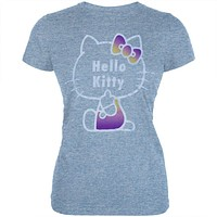 Hello Kitty - Glitter Kitty Juniors T-Shirt