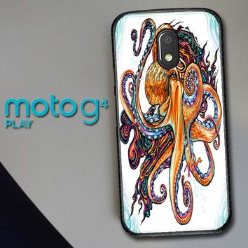 Octopus Ink V1619 Motorola Moto G4 Play Case