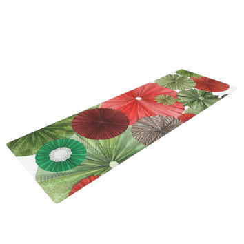 "Heidi Jennings ""Christmas Remix"" Holiday Yoga Mat"