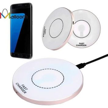 2016 Phone Accessories Qi Fast Wireless Charger