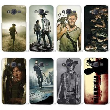 The Walking Dead Zombie Rick Daryl Dixon Wings Clear Case Cover Coque Shell for Samsung Galaxy J1 J2 J3 J5 J7 2016 2017 Emerge