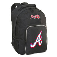 Southpaw Backpack MLB Black - Atlanta Braves