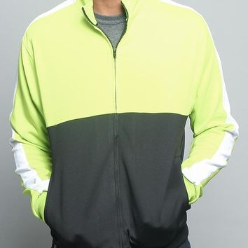 Tri-Colored Track Jacket