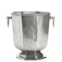 Pewter Octagonal Ice BucketVELLUM