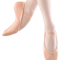 Bloch Girl's Leather Full Sole  Ballet Shoes