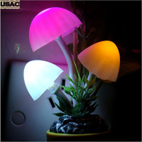 US Plug Decorative Plug In Night Lights Romantic Colorful Dream Bed Home Decor LED Lava Lamp Baby Night Lamp U15 Alternative Measures