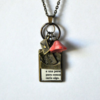 Love Letter Necklace Dictionary Collection by Maguida on Etsy