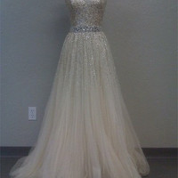 Charming Sweetheart tulle Prom Dress