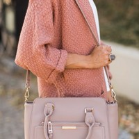 I've Got Plans Blush Pink Handbag
