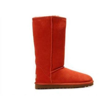 Gotopfashion Discount Ugg Boots Classic Tall 5815 Red For Women 83 00