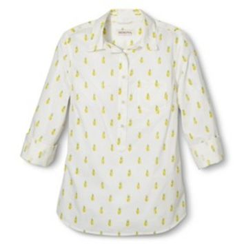 Merona® Women's Popover Favorite Shirt - Assorted Prints